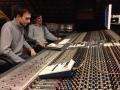 Preisner Studio, Pałka/Mika Quartet album recording 2014